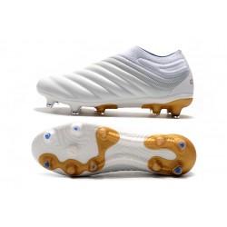 Adidas Copa 19 FG White Gold Football Boots