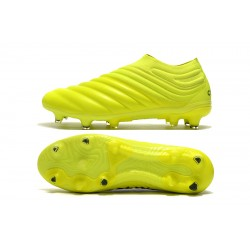 Adidas Copa 19 FG Yellow Black Football Boots