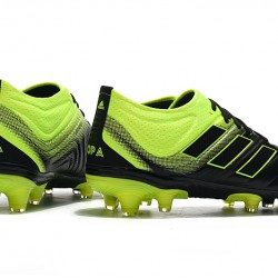 Adidas Copa 19.1 FG Black Green Football Boots