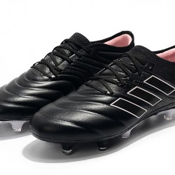 Adidas Copa 19.1 FG Black Pink White Football Boots