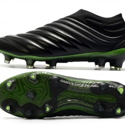 Adidas Copa 20 FG Black Green Football Boots