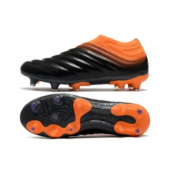 Adidas Copa 20 FG Black Orange Football Boots