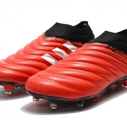Adidas Copa 20 FG Black Red Football Boots