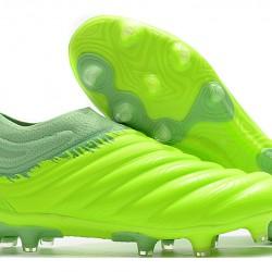 Adidas Copa 20 FG Silver Green White Football Boots
