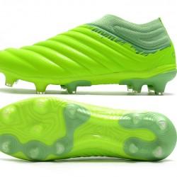 Adidas Copa 20 FG Yellow Green Football Boots