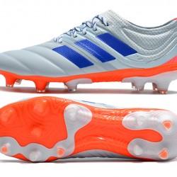 Adidas Copa 20.1 FG Low Mens Orange Grey Blue Football Boots