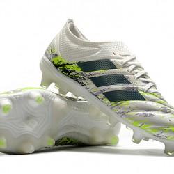 Adidas Copa 20.1 FG Silver Black Green Football Boots