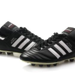 Adidas Copa Mundial FG Black White Football Boots