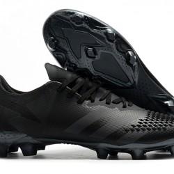 Adidas Predator 20.2 FG Low All Black Football Boots
