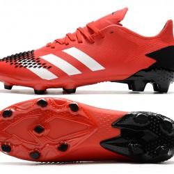 Adidas Predator 20.2 FG Low Red White Black Football Boots