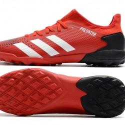 Adidas Predator 20.3 L FG Low Red White Black Football Boots