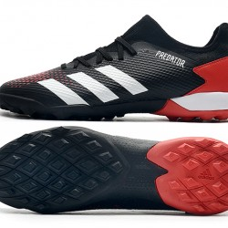 Adidas Predator 20.3 L TF Low Black White Red Football Boots