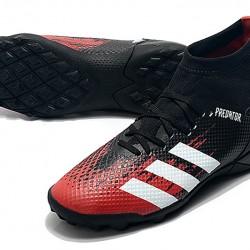 Adidas Predator 20.3 TF High Black White Red Football Boots