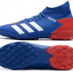 Adidas Predator 20.3 TF High Red White Blue Football Boots