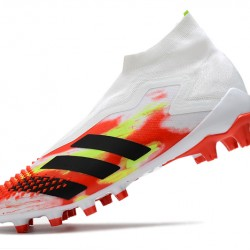 Adidas Predator Mutator 20 AG High White Black Red Green Football Boots