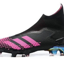 Adidas Predator Mutator 20 FG High Black Purple Football Boots