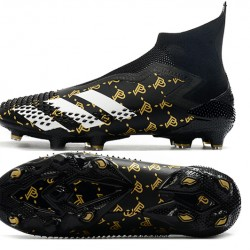 Adidas Predator Mutator 20 FG High Black White Gold Football Boots