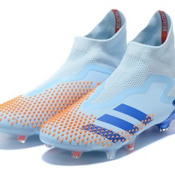 Adidas Predator Mutator 20 FG High Ltblue Blue Orange Football Boots