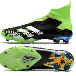Adidas Predator Mutator 20 FG High Mens Black Silver Green Football Boots