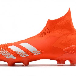 Adidas Predator Mutator 20 FG High Orange Silver Football Boots