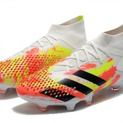 Adidas Predator Mutator 20.1 FG High Beige Green Black Football Boots