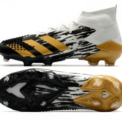 Adidas Predator Mutator 20.1 FG High Black Gold White Football Boots