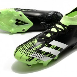Adidas Predator Mutator 20.1 FG High Black Green Football Boots
