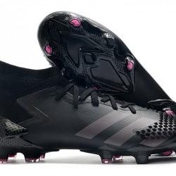 Adidas Predator Mutator 20.1 FG High Black Grey Football Boots
