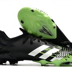 Adidas Predator Mutator 20.1 FG High Black White Green Football Boots