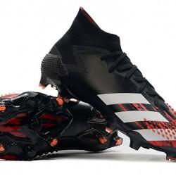 Adidas Predator Mutator 20.1 FG High Black White Red Football Boots