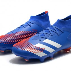 Adidas Predator Mutator 20.1 FG High Blue Red White Football Boots