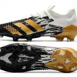 Adidas Predator Mutator 20.1 FG Low Black Gold White Football Boots