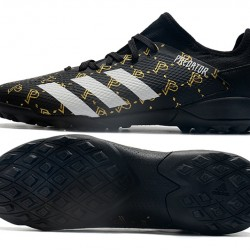 Adidas Predator Mutator 20.3 L TF Black White Gold Football Boots
