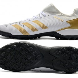 Adidas Predator Mutator 20.3 L TF Low Gold Grey White Football Boots