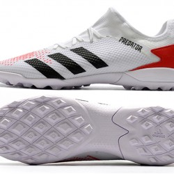 Adidas Predator Mutator 20.3 L TF Low White Orange Black Football Boots