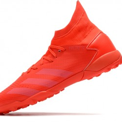 Adidas Predator Mutator 20.3 TF High All Red Football Boots