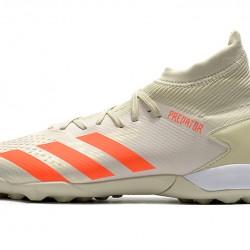 Adidas Predator Mutator 20.3 TF High Beige Orange White Football Boots