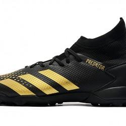 Adidas Predator Mutator 20.3 TF High Black Gold Football Boots