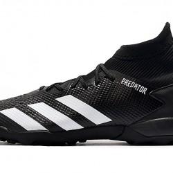 Adidas Predator Mutator 20.3 TF High Black White Football Boots