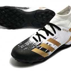 Adidas Predator Mutator 20.3 TF High Black White Gold Football Boots