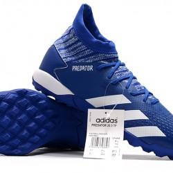 Adidas Predator Mutator 20.3 TF High Deep Blue White Football Boots