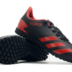 Adidas Predator Mutator 20.4 TF Low Black Red Football Boots