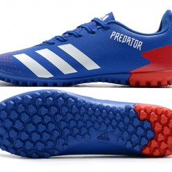 Adidas Predator Mutator 20.4 TF Low Blue White Red Football Boots