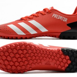 Adidas Predator Mutator 20.4 TF Low Red White Black Football Boots