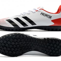 Adidas Predator Mutator 20.4 TF Low White Black Red Football Boots