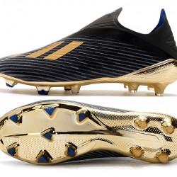 Adidas X 19 FG Black Gold Football Boots