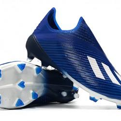 Adidas X 19 FG Blue White Football Boots