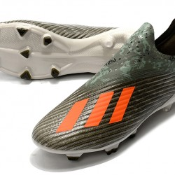 Adidas X 19 FG Orange Armygreen Football Boots