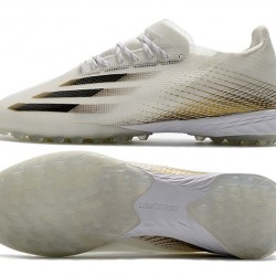 Adidas X Ghosted 1 TF Beige Black Football Boots