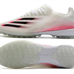 Adidas X Ghosted 1 TF Beige Black Pink Football Boots